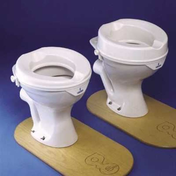 Derby Prima 2inch and 4 inch Raised Toilet Seat